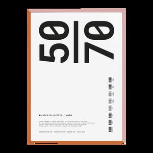 Bilde av Paper Collective - Frame Orange  50x70